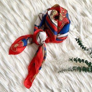 Hand Printed Silk Scarf